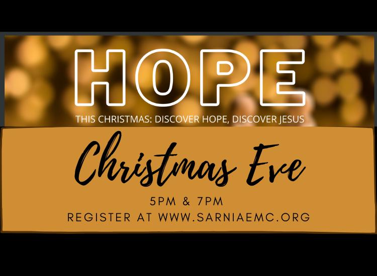 Christmas Eve at SEMC 7pm Service