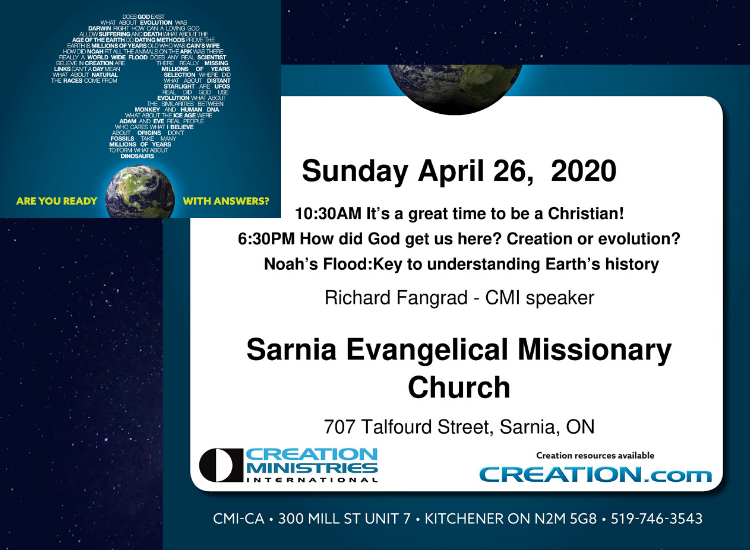 Creation Ministries at SEMC