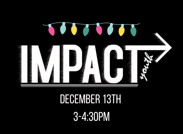 IMPACT JR Christmas Event!