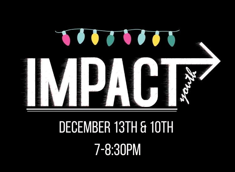 IMPACT SR Christmas Event!